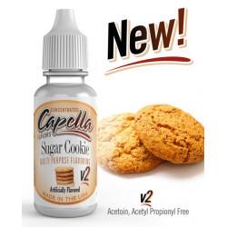 Arôme Sugar Cookie v2 Flavor 10ml - Capella