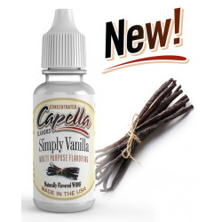 Arôme Simply Vanilla Flavor 10 ml - Capella