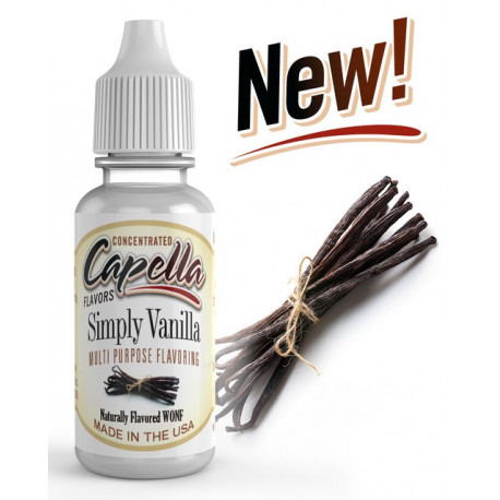 Simply Vanilla Flavor Concentrate 13ml