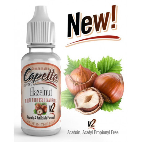 Arôme Halzelnut V2 Flavor 13ml capella