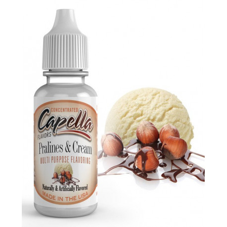Arôme Pralines & Cream Flavor 13ml capella