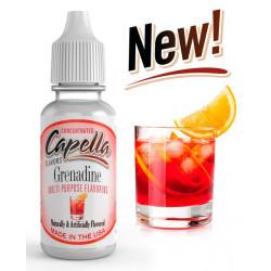 Arôme Grenadine Flavor Capella pour liquide DIY 10 ml