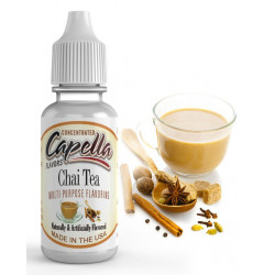 Arôme Chai Tea Flavor 10 ml Capella pour liquide DIY