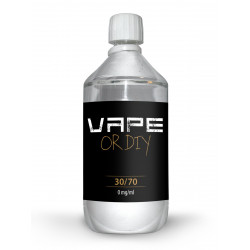 Base Vape or Diy 30% PG 70% VG 0 mg 1 L