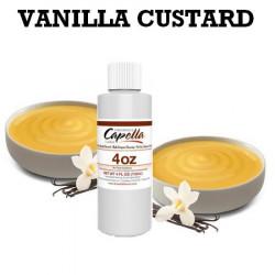 Arôme vanilla custard V2 100ml - Capella