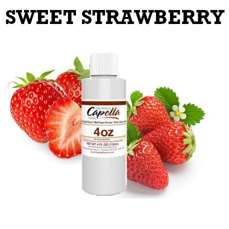 Arôme Sweet Strawberry 4oz ( 118 ml )
