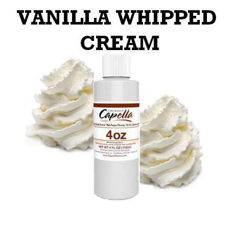 Arôme vanilla whipped cream 4oz ( 118 ml )