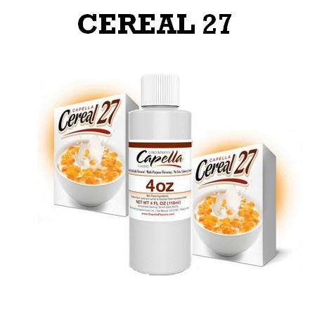 Arôme cereal 27 4oz ( 118 ml )