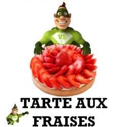 Arôme super concentré  tarte aux fraises - vapote style -