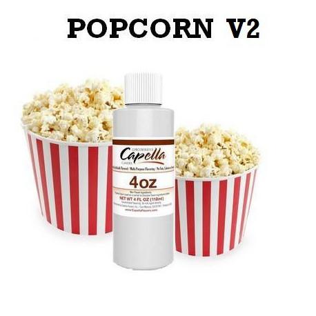 Arôme Popcorn V2 4oz ( 118 ml )