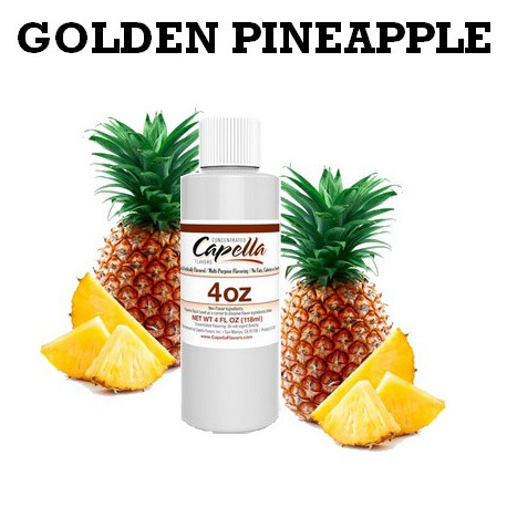 Arôme Golden PINEAPPLE 4oz  capella