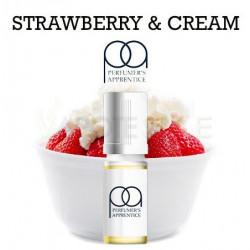 Arôme Strawberries et Cream Flavor 100 ml - perfumer's apprentice
