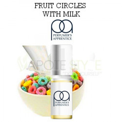 ARÔME FRUIT CIRCLES WITH MILK FLAVOR