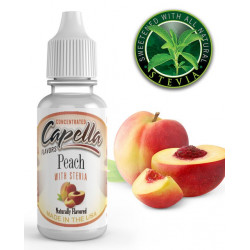 Arôme Peach with Stevia Flavor 13ml