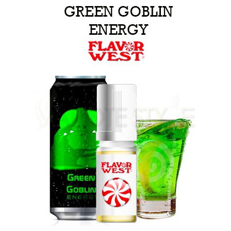 ARÔME GREEN GOBLIN ENERGY FLAVOR WEST