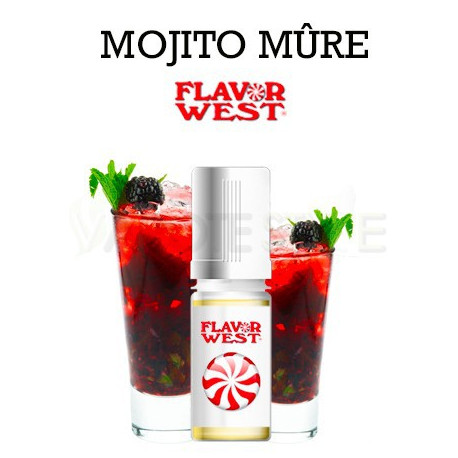 ARÔME BLACKBERRY MOJITO FLAVOR WEST
