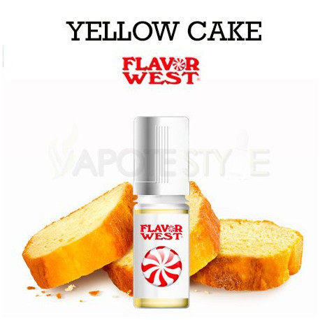 ARÔME CAKE YELLOW FLAVOR WEST