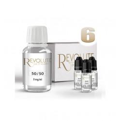 BASE 50/50 REVOLUTE E-LIQUIDE 6 MG NICOTINE TPD