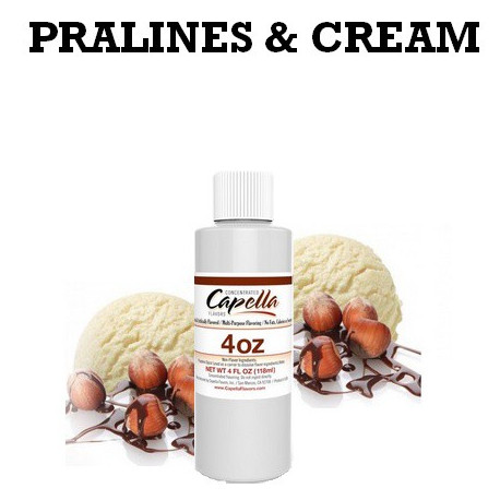 Arôme Pralines & Cream 4oz ( 118 ml )
