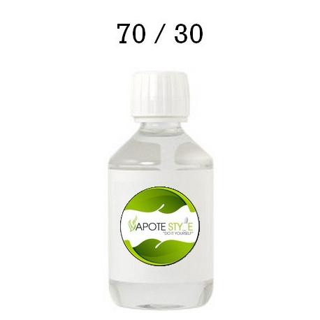 Base pour e-liquide Vapote Style 70% PG 30% VG 0mg de nicotine
