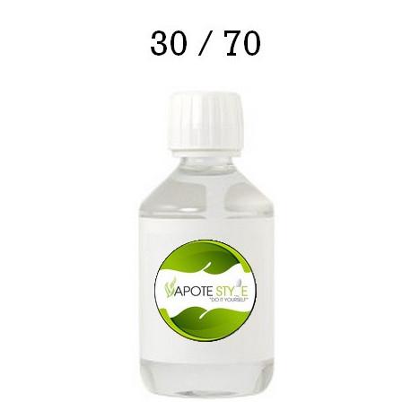 Base pour e-liquide Vapote Style 30% PG 70% VG 0mg de nicotine