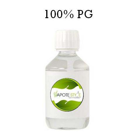 Base pour e-liquide Vapote Style 100% PG 0mg de nicotine
