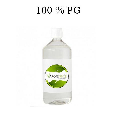 Base pour e-liquide Vapote Style 100% PG 0mg de nicotine 1 L