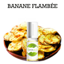 ARÔME BANANE FLAMBÉE POUR LIQUIDE DIY 100ML