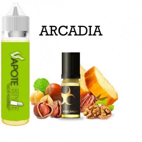 Premix e-liquide Arcadia Virus vape 50 ml