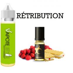 Premix e-liquide retribution Virus vape 60 ml