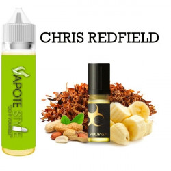 Premix e-liquide Chris Redfield Virus vape 60 ml