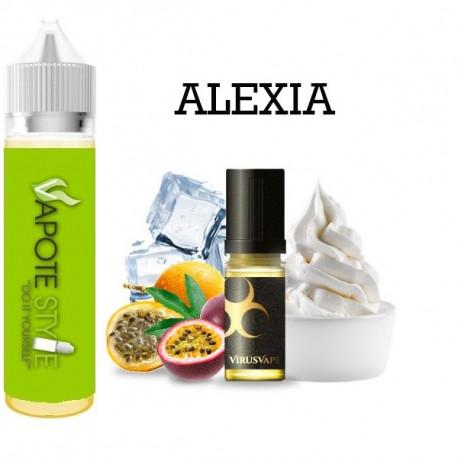 Premix e-liquide Alexia Virus vape 60 ml