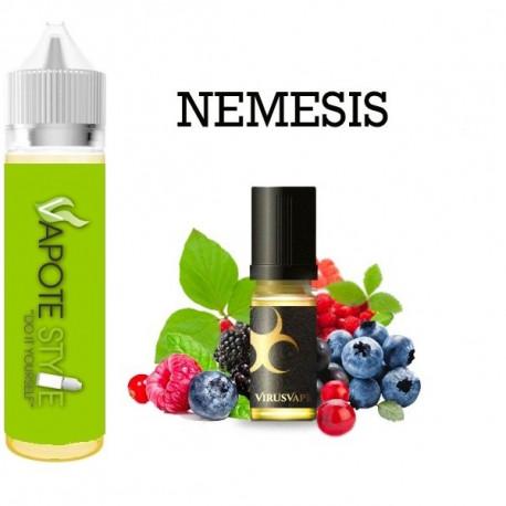 Premix e-liquide Nemesis Virus vape 60 ml