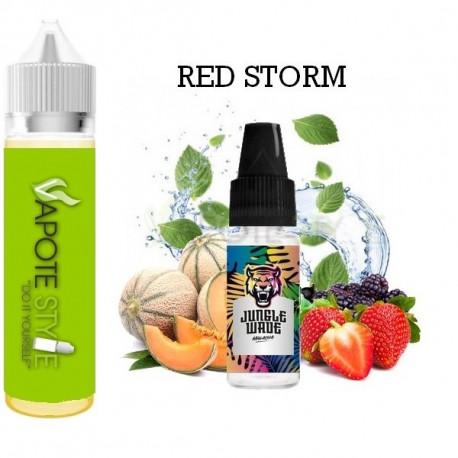 Premix e-liquide Red Storm Jungle Wave 60 ml