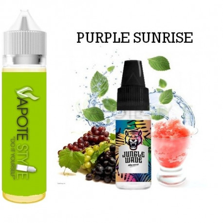 Premix e-liquide Purple Sunrise  Jungle Wave 60 ml
