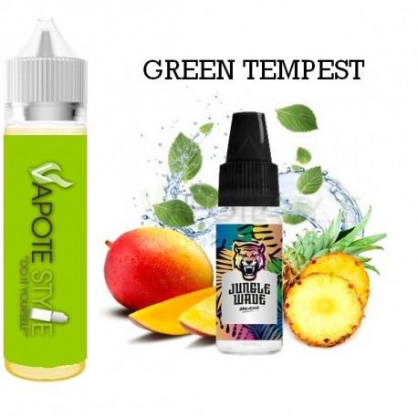Premix e-liquide Green Tempest  Jungle Wave 60 ml
