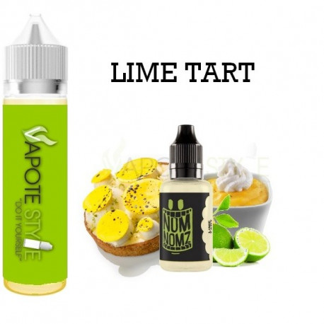 Premix e-liquide Lime Tart Nom-Nomz 180 ml
