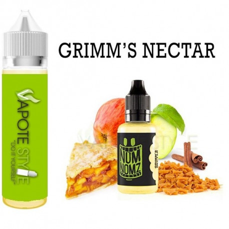 Premix e-liquide Grimm's Nectar Nom-Nomz 180 ml