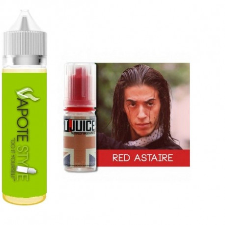 Premix e-liquide Red Astaire T-juice  60 ml