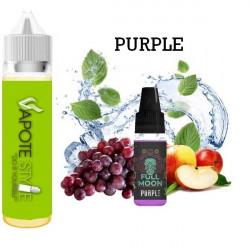 Premix e-liquide Purple - Full Moon 60 ml