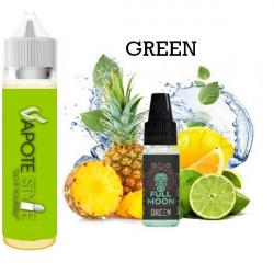 Premix e-liquide Green - Full Moon 60 ml