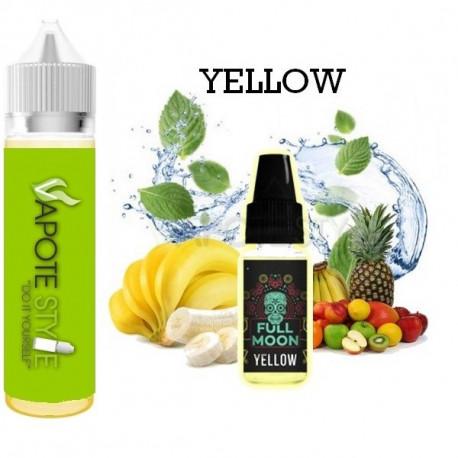 Premix e-liquide Yellow - Full Moon 60 ml