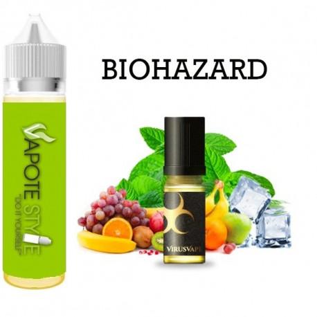 Premix e-liquide Biohazard Virus vape 60 ml