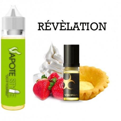 Premix e-liquide Révélation Virus vape 60 ml