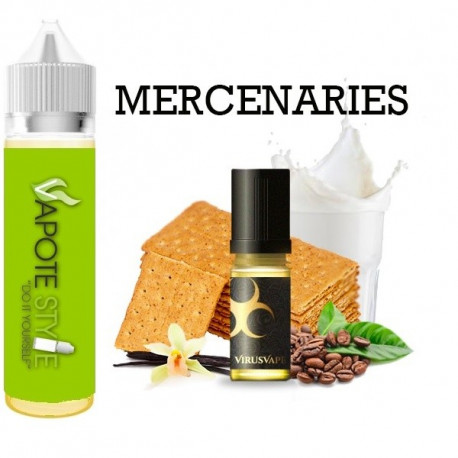 Premix e-liquide Mercenaries Virus vape 60 ml