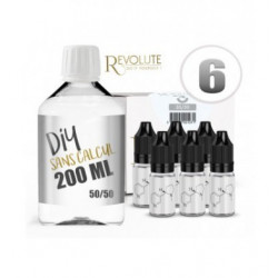 Revolute Pack 200ML 50/50 6MG
