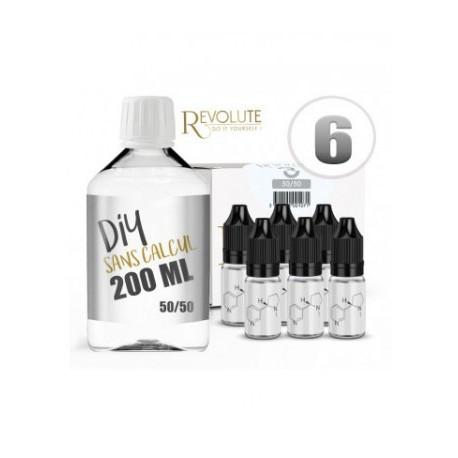 Revolute Pack 200ML 50/50 6MG