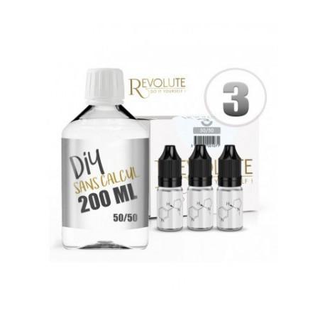 Revolute Pack 200ML 50/50 3MG