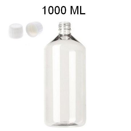 Bouteille 1000 ml PET + réducteur + bouchon