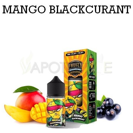 Arôme concentré Mango Blackcurrant - Fruity Champions League